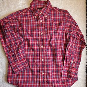 Ralph Lauren long sleeve button up boys size 4T